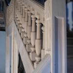 Escalier 1/4 tournant en chène