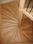 06-10 Escalier colimaçon sur 2 étages ou 4/4 tournant