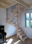 09-13 Escalier et mezzanine